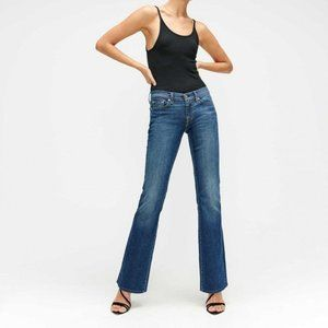7 for all Mankind midrise bootcut jeans size 27